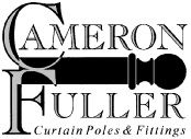 Cameron Fuller curtain and pole fittings