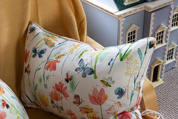 Pretty floral cushions